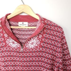 Woolrich Ruby Half Zip Pullover Sweater size small
